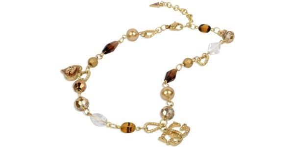 Guess náhrdelník s korálkami UFN90811