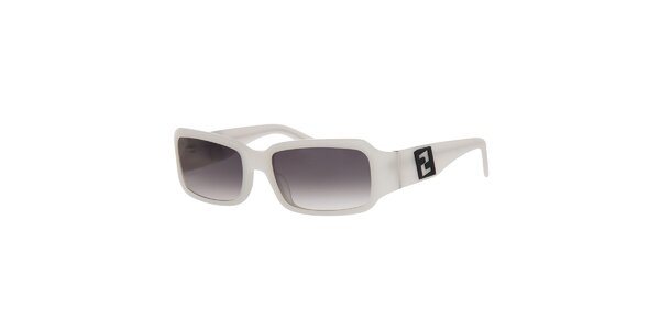 Dámské bílé sluneční brýle Fendi