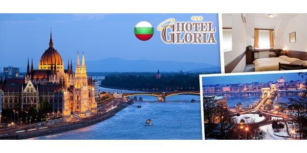 Obdivujte krásy zimní Budapešti