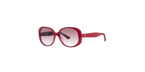 Dámské červené sluneční brýle Fendi