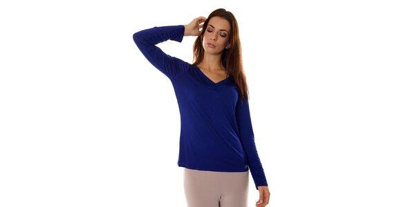 Dámský tmavě modrý pyžamový top Calvin Klein