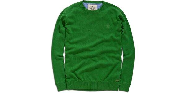 Pánský zelený svetr Timeout