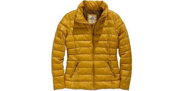 Dámská žlutá zimní bunda Timeout