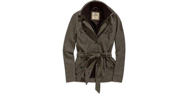 Dámský šedý kabátek Timeout