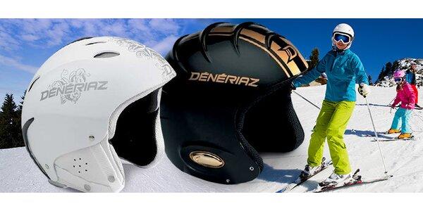 Certifikované lyžařské helmy Deneriaz