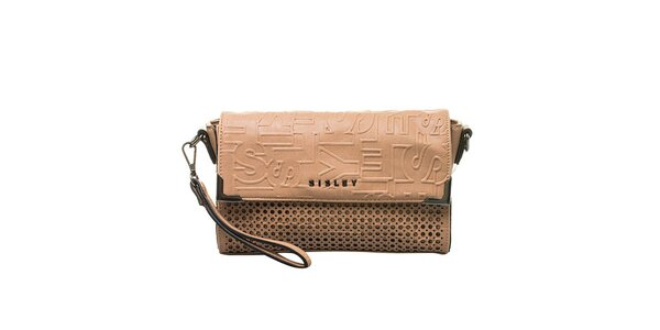 Dámská vzorovaná kabelka Sisley
