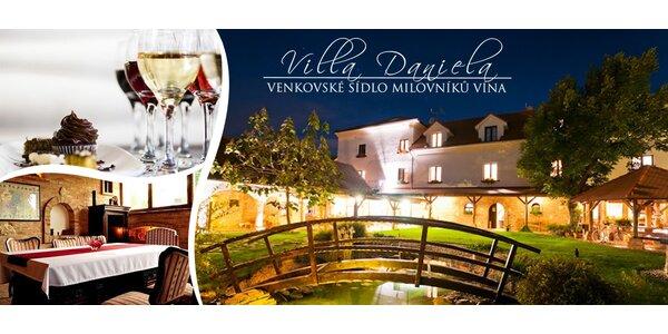 Dovolená pro milovníky jídla a vína u Valtic