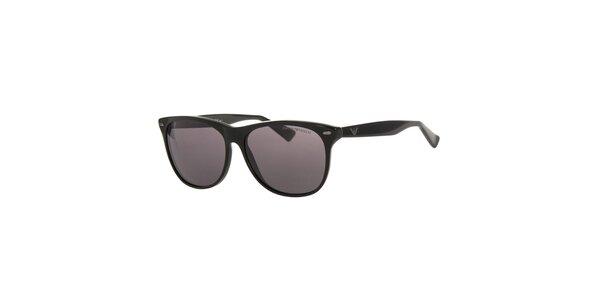 Pánské černé sluneční brýle Emporio Armani s polarizovanými skly