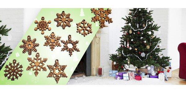 Dřevěné vánoční ozdoby Woodener
