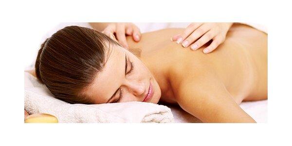 Léčivá masáž zad a šíje
