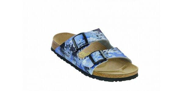 Dětské modré ortopedické pantofle Papillio