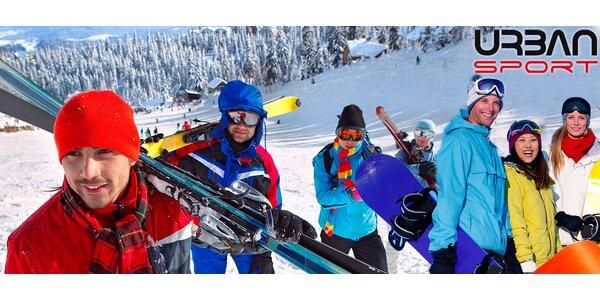Servis zapůjčení lyží, snowboardu či kompletní výbavy