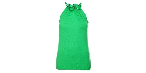 Dámský sytě zelený top Victoria Look
