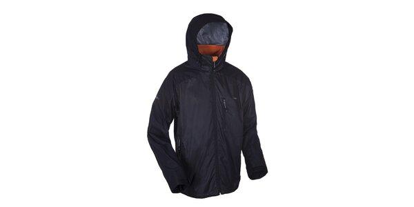 Pánská černá funkční outdoorová bunda Envy