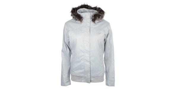 Dámská zimní bunda s kožíškovým lemem Loap
