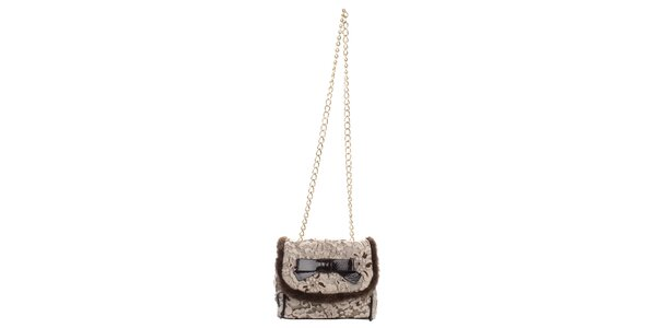 Dámská malá kabelka s květinovým vzorem a mašlí Phard