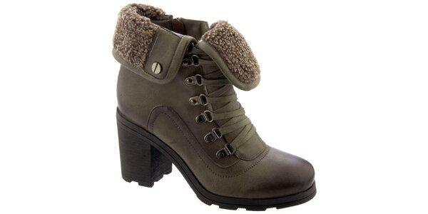 Dámské kotníkové boty s vlněnou podšívkou Betsy