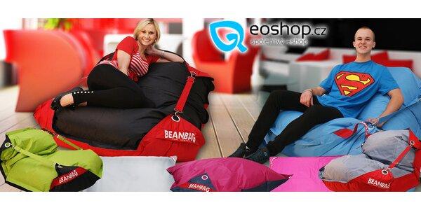Sedací vaky Bean Bag v mnoha stylových barvách