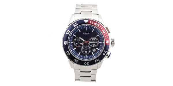 Pánské ocelové hodinky s kulatým ciferníkem Esprit