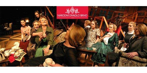 149 Kč za činoherní představení Osm žen v Mahenově divadle.