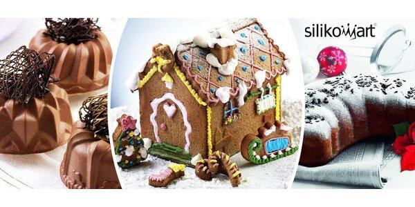 Silikonové formy Silikomart - nové vánoční motivy