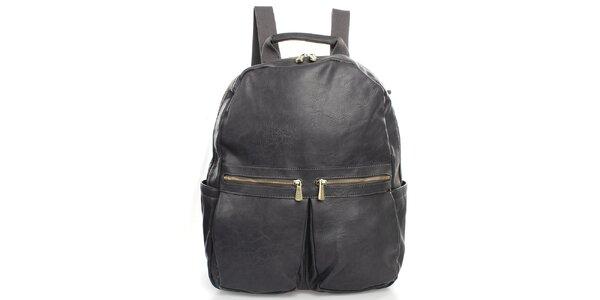 Šedý batoh Bobby Black