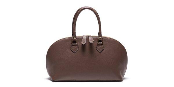 Dámská kožená kabelka se zipem Mangotti