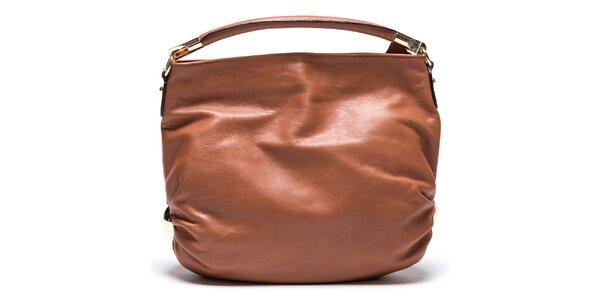 Neodolatelné dámské kožené kabelky Mangotti. Tato kampaň již skončila.  Dámská koňaková kabelka z kůže Mangotti 01f381accd8