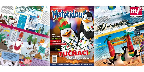 Předplatné dětského časopisu Mateřídouška (12 čísel)