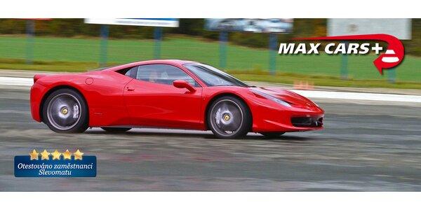 Jízdy na okruhu v supersportu Ferrari 458 Italia