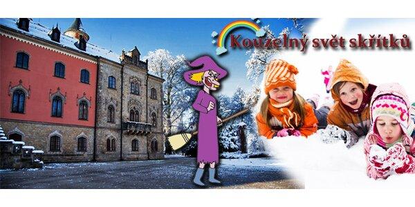 Vánoční hra kolem zámku Sychrov
