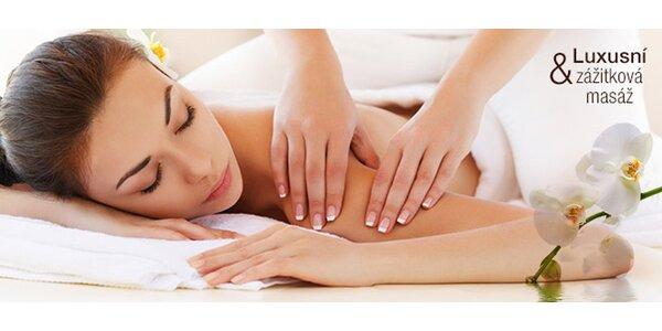 Luxusní dvouhodinová zážitková masáž dle výběru