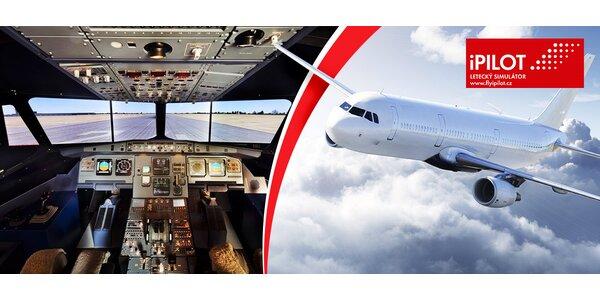 Zážitek na leteckém simulátoru Airbus A320 (30-90 min)