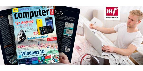 Roční předplatné časopisu Computer vč. DVD