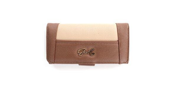 Dámská hnědo-béžová peněženka Gorétt
