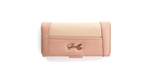 Dámská růžová peněženka Gorétt