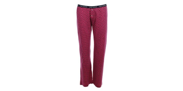 Dámské pyžamové kalhoty s hvězdičkami Tommy Hilfiger