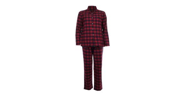 Dámské kárované pyžamo Tommy Hilfiger