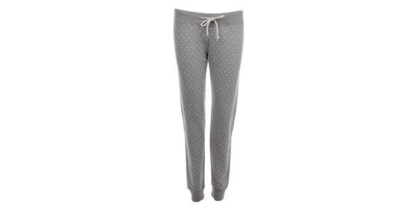 Dámské šedé teplákové kalhoty Tommy Hilfiger