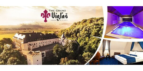 Luxusní wellness pobyt na zámku Vígľaš