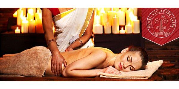 Hodinová masáž od orientálních masérek
