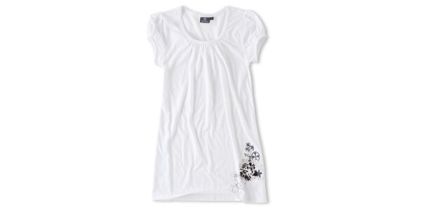 Dámské dlouhé bílé tričko Brunotti