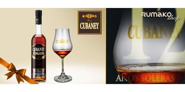 Dominikánský rumový likér Cubaney Elixir 12 Años