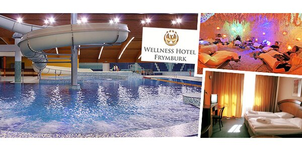 Největší hotelové wellness v ČR na Lipně pro dva