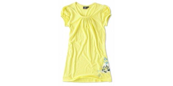 Dámské kanárkově žluté tričko Brunotti