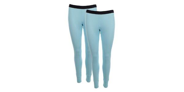 Dámská sada 2 světle modrých přiléhavých kalhot Hannah