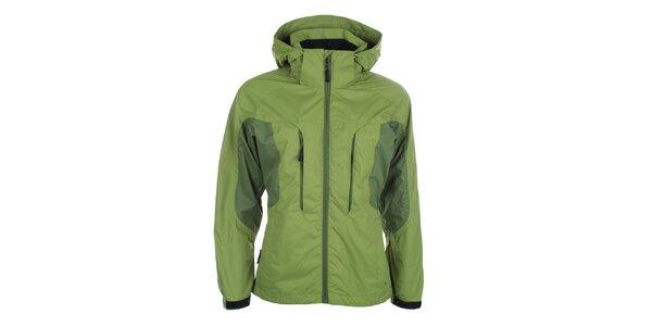 Dámská bunda v zeleném odstínu Hannah