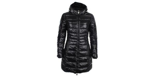 Dámský lesklý prošívaný kabát LWJ Collection