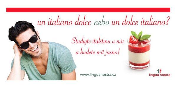 Intenzivní nebo víkendový kurz Italština