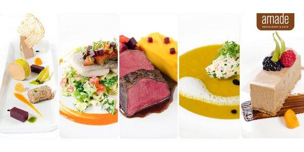 Dárek pro gurmány – 5chodové menu v Amade restaurantu